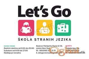 Let's Go - Škola Stranih Jezika, Bul Pazrijarha Pavla 6 / Proleterska 14 a