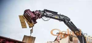 Grabilice za razvrstavanje HDG-serija | 100 do 14200 kg| Hydraram