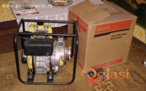 Nova nekoriscena pumpa za vodu Kama KDP 20 dizel
