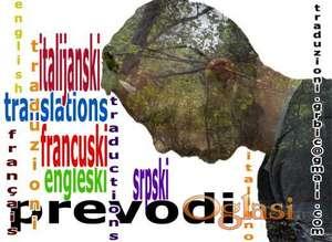 PREVODILAC SA ITALIJANSKOG/FRANCUSKOG NA SRPSKI