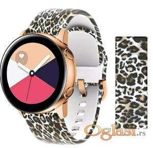 Samsung galaxy watch 42mm silikonska narukvica 20mm