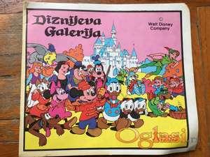 Diznijeva Galerija - album sa sličicama (kompletno popunjen)