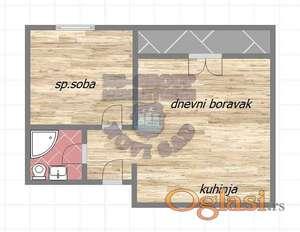 Nov dvosoban stan blizu Centra-cena sa pdv-om !