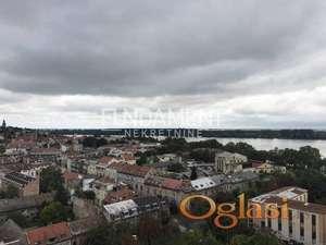 2.5 ZEMUNSKI KEJ 78m2, dve terase, Xlll, pogled na Dunav ID#1275