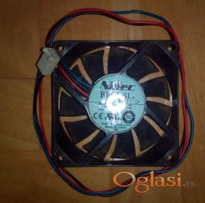 Kuler Nidec D07R-12T2L 70mm x 15mm Fan DV12V 0.08A 3-Pin 3-Wire