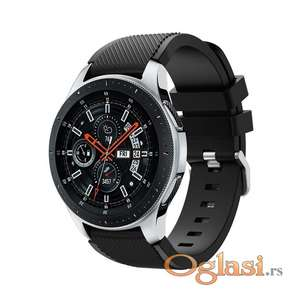 Crna narukvica Galaxy Watch 46mm Huawei GT2 22mm