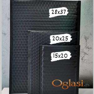 Vazdušaste pvc kese za slanje paketa SET 10 KOM crne 15x20