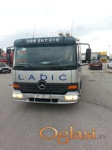 Mercedes atego 817 Vučno vozilo