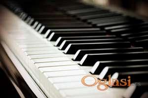 Časovi klavira za sve uzraste