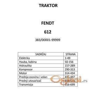Fendt 612 - Katalog delova