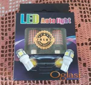 LED Auto sijalice crvene boje