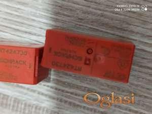 Min.relej 2CO, 8A, 230VAC, raster 5mm, serije RT