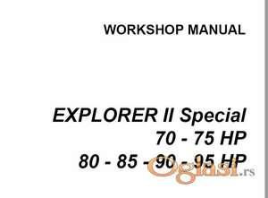 Same Explorer II Special 70 - 75 80 - 85 - 90 - 95  Radionički priručnik