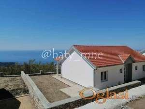 Nova kvalitetna kuća u Dobra Voda (Brkanovići)