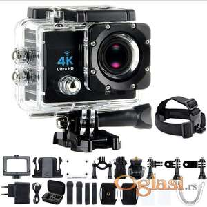 Akciona kamera Gopro 4K Ultra HD Sportska WiFi+Daljinski