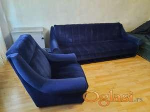 kreveti 2 kom + 2 fotelje