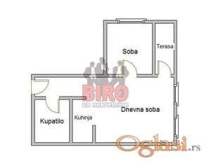 40 m2 nov jednoiposoban stan u mirnom delu grada