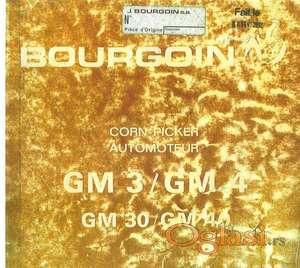 Burgoine GM3/GM4 GM30/GM40  Katalog delova