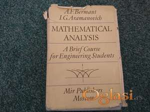 Mathematical Analysis: A Brief Course for Engineering Students