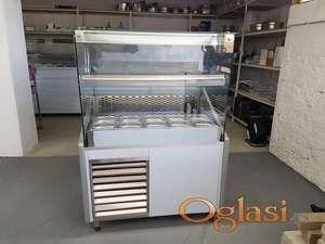 Rashladna vitrina model salatara 1000-820-1350 ravno staklo