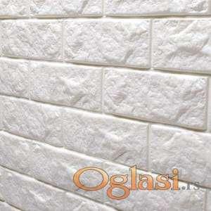 3D stikeri za zid cigla dim 70x80