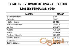 Massey Ferguson 6260 - Katalog delova