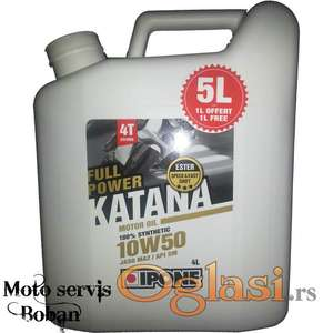 AKCIJA Katana 10/50 5L i filter ulja