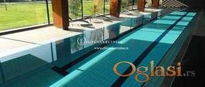 Izdavanje stanova Beograd-Četvorosoban stan na Senjaku , garaža, bazen , teretana