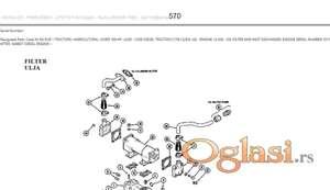 David Brown 2290 - Katalog rezervnih delova