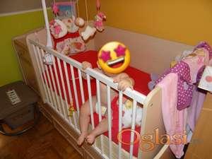Prodajem krevetić za bebe