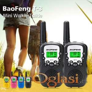 Toki Voki Baofeng T3  2 slušalice