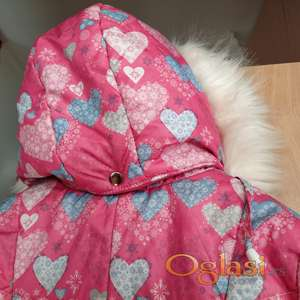 Zimski kaput 104-56-54 roze boje