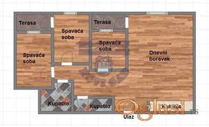 Nov četvorosoban stan, Socijalno, sa povratom PDV-a!