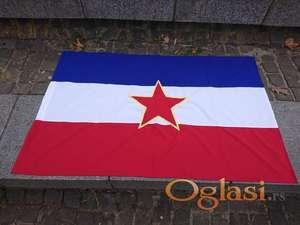 Zastava SFRJ - Jugoslavije - velika 140x85