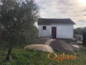 Mala kucica u Zagori sa zemljistem 1.000 m2. Hitno --- 55.000 eura!