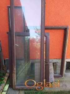 Drvena balkonska vrata i prozori