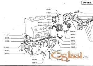 Fiat 540 - katalog delova