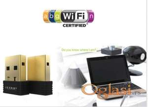 EDUP WiFi USB Nano Adapter + CD 2.4G 802.11n/g/b 150Mbps