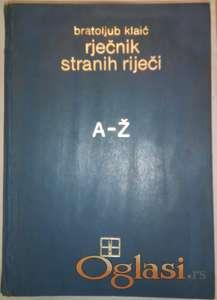 Rječnik stranih riječi A-Ž, Bratoljub Klaić
