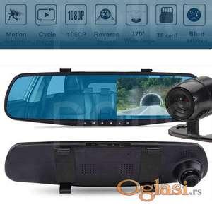 Autokamera retrovizor DVR color+ rikverc kamera