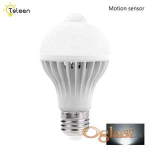 LED sijalica 7W sa senzorom pokreta