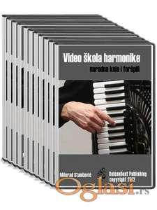 Video skola harmonike