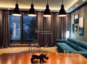 Izdavanje stanova Beograd-Trosoban lux stan , penthouse na Vračaru