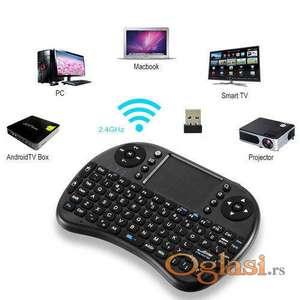 Bežična mini tastatura za Android tv box smart tv sa svetlom