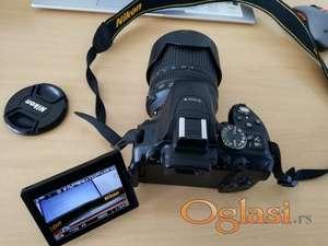 Nikon D5300 + 18-105mm VR digitalni fotoaparat KAO NOV