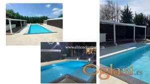 Izdavanje / Luksuzna novoizgrađena vila sa bazenom