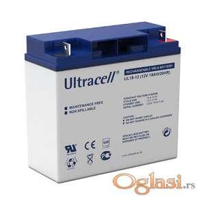 Baterija VRLA 12v 18Ah Ultracell