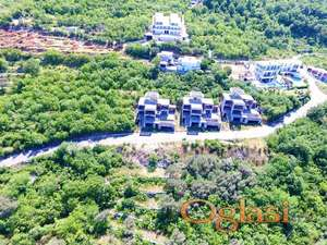 3 vile u izgradnji na Budvanskoj rivijeri. Panoramski pogled! Hitno