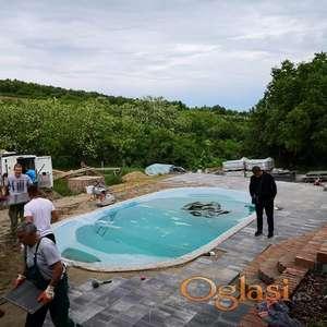 Iskop i nivelacija zemlje radovi na kanalizaciji i vodovodu