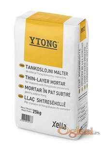 Ytong lepak - tankoslojni malter za zidanje
